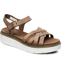 safari dawn multi-strap sandal shoes summer shoes flat sandals brun timberland