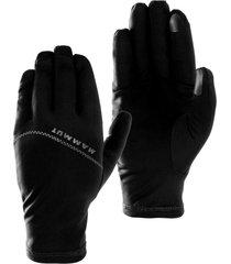 guante stretch glove negro mammut