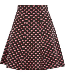 maggie heart knitted skirt