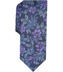 bar iii men's clark skinny floral tie, created for macy's