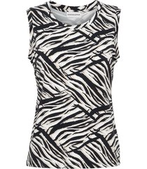&co woman top t0130-c zebra