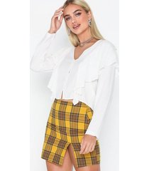nly trend checked mini skirt minikjolar
