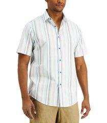 tasso elba men's banda space-dyed shirt, created for macy's