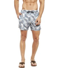 traje de baño guy laroche swimming guy l print verde - calce regular