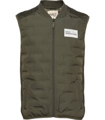 halo quilted gilet vest groen halo