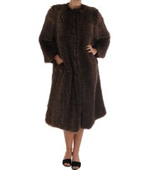 raccoon fur coat jacket