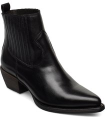 boots 3610 shoes boots ankle boots ankle boot - heel svart billi bi