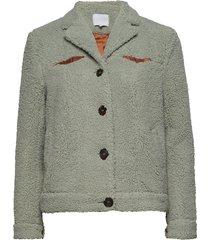 jacket in curly quality blazer grön coster copenhagen
