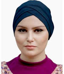 urban modesty women's criss cross tube under scarf