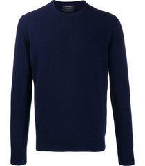 dell'oglio slim-fit cashmere sweater - blue