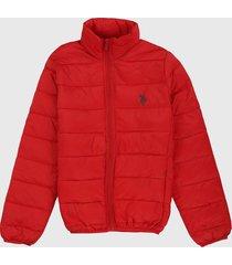 chaqueta rojo us polo assn