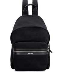 palm angels canvas backpack