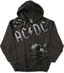 ac/dc night prowler rock music angus young mens zip hoodie sweat shirt s-2xl