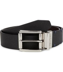 robert graham men's surtees reversible belt - black brown - size 32