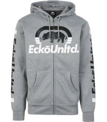 ecko unltd men's progressive full zip hoodie