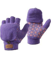 guantes mini nordic glove mitts violeta claro lippi