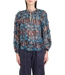ulla johnson roma blouse
