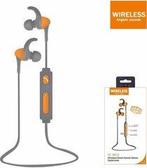 audífonos bluetooth, fe-801s inalámbrica auricular - naranja