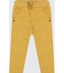 pantalón amarillo boboli