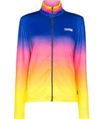 colmar gradient print ski fleece jacket - multicolour