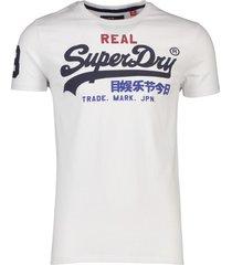 superdry t-shirt heren wit vintage logo