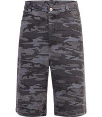 balenciaga camouflage print bermuda shorts
