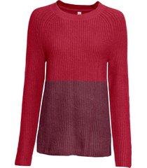 maglione bicolore (rosso) - rainbow
