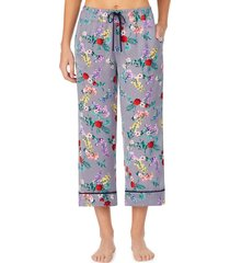 women's room service cropped pajamas pants, size x-large - grey (nordstrom exclusive)