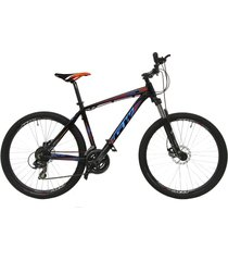 bicicletas todo terreno gw alligator  rin 27.5 shimano 7 v. freno disco suspen negro naranja azul