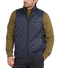barbour men's mitchell quilted vest
