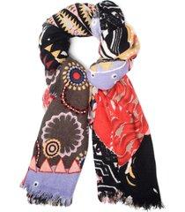 bufanda guernica multicolor desigual