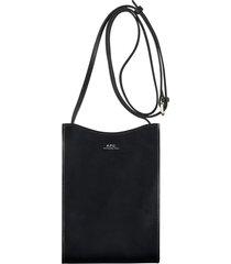 a.p.c jamie neck pouch | noir | pxbmw-h63043