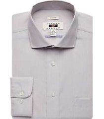 joseph abboud taupe stripe dress shirt