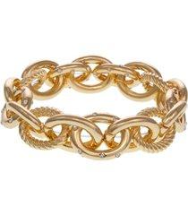 laundry by shelli segal link stretch bracelet