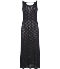 jil sander perforated woven dress