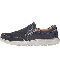 skor roger kent marinblå