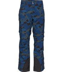 zeus camo sport pants blauw tenson
