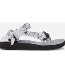 arizona love women's trekky bandana sandals - white - uk 7