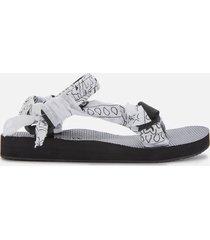 arizona love women's trekky bandana sandals - white - uk 8