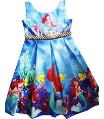 vestido ariel patatitas i30 azul