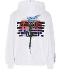 mcq alexander mcqueen eden high sweatshirt