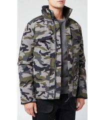 canada goose men's forester jacket - classic camo - l