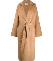 alamo oversized midi coat