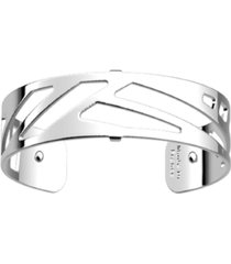 les georgettes by altesse geometric openwork thin adjustable cuff bracelet, 14mm, 0.5in