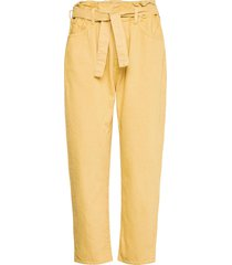 jalia trousers jeans mom jeans geel ba&sh
