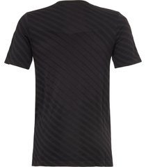 asics performance black seamless short sleeve t-shirt