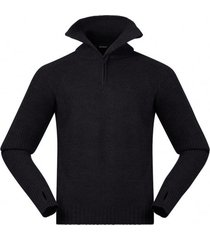 bergans trui men ulriken jumper black mel-l
