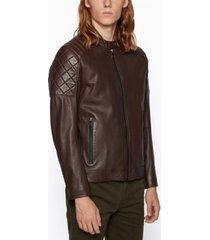 boss men's jeean 1 slim-fit biker jacket