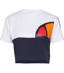 el anat crop t-shirt crop tops multi/mönstrad ellesse