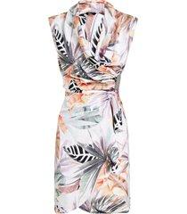marciano desert palm wrap dress